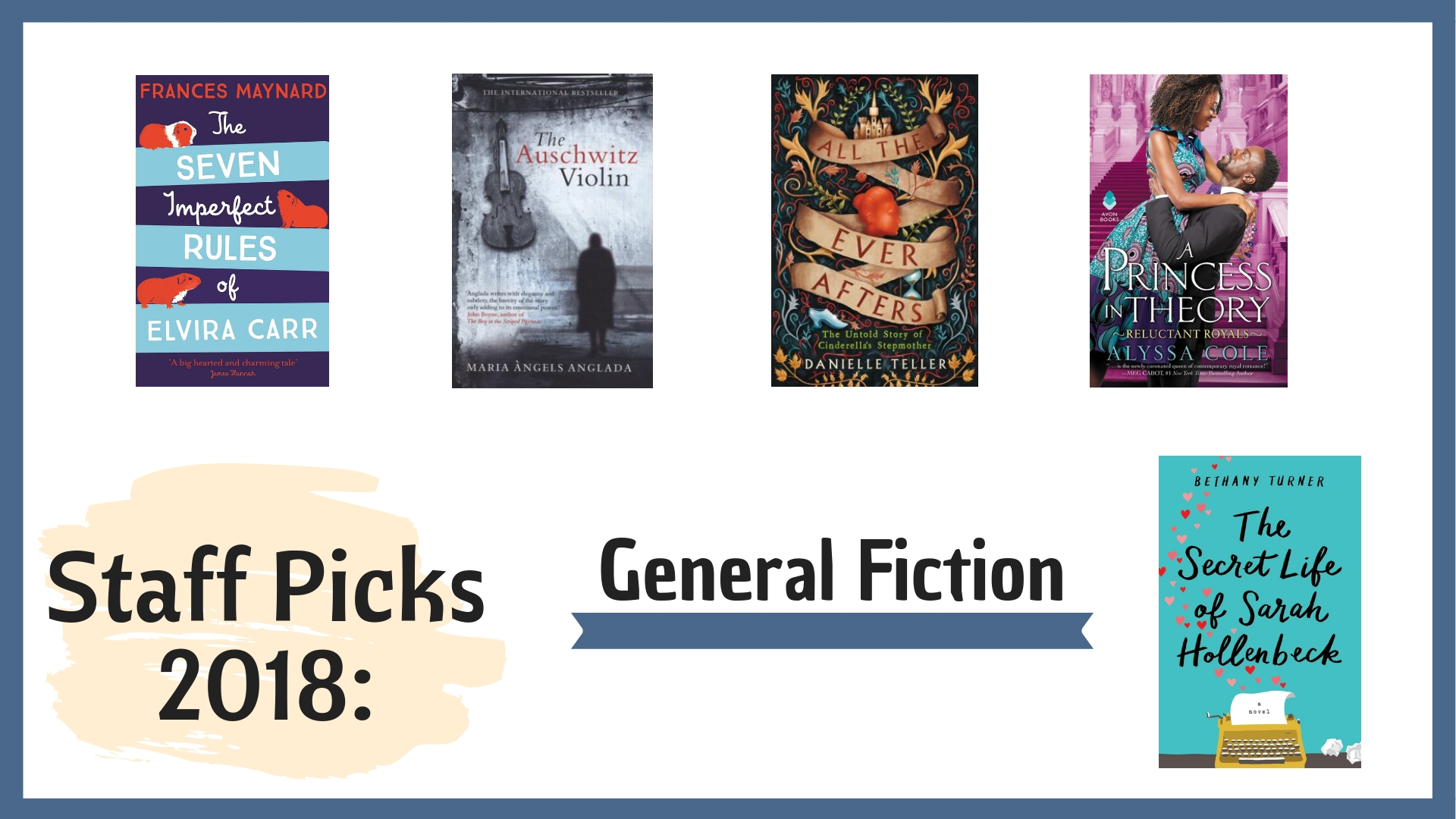 Staff Picks 2018: General Picks