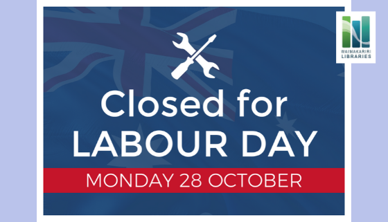 Labour Day - Library Closed thumbnail image.