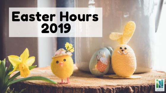 Easter Hours 2019 thumbnail image.