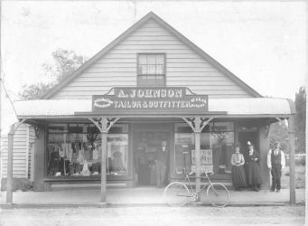 A Johnson, Tailor and Outfitter