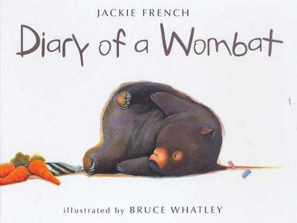 diary of a wombat cover