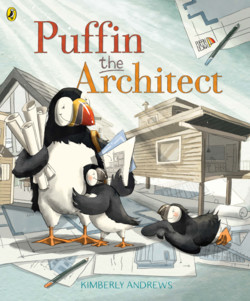 Puffin the architect cover