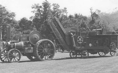Robey 8 hp traction engine