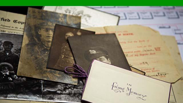 Genealogy resources thumbnail image.