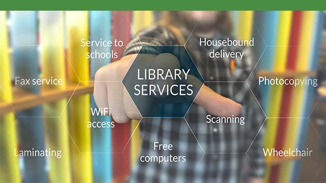 Library services thumbnail image.