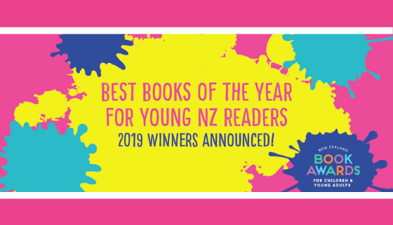 2019 Winners of the NZ Book Awards for Children and Young Adults Announced thumbnail image.
