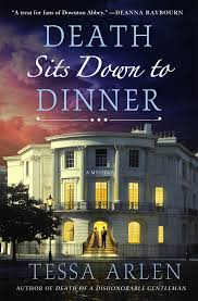 Death sits down to dinner cover