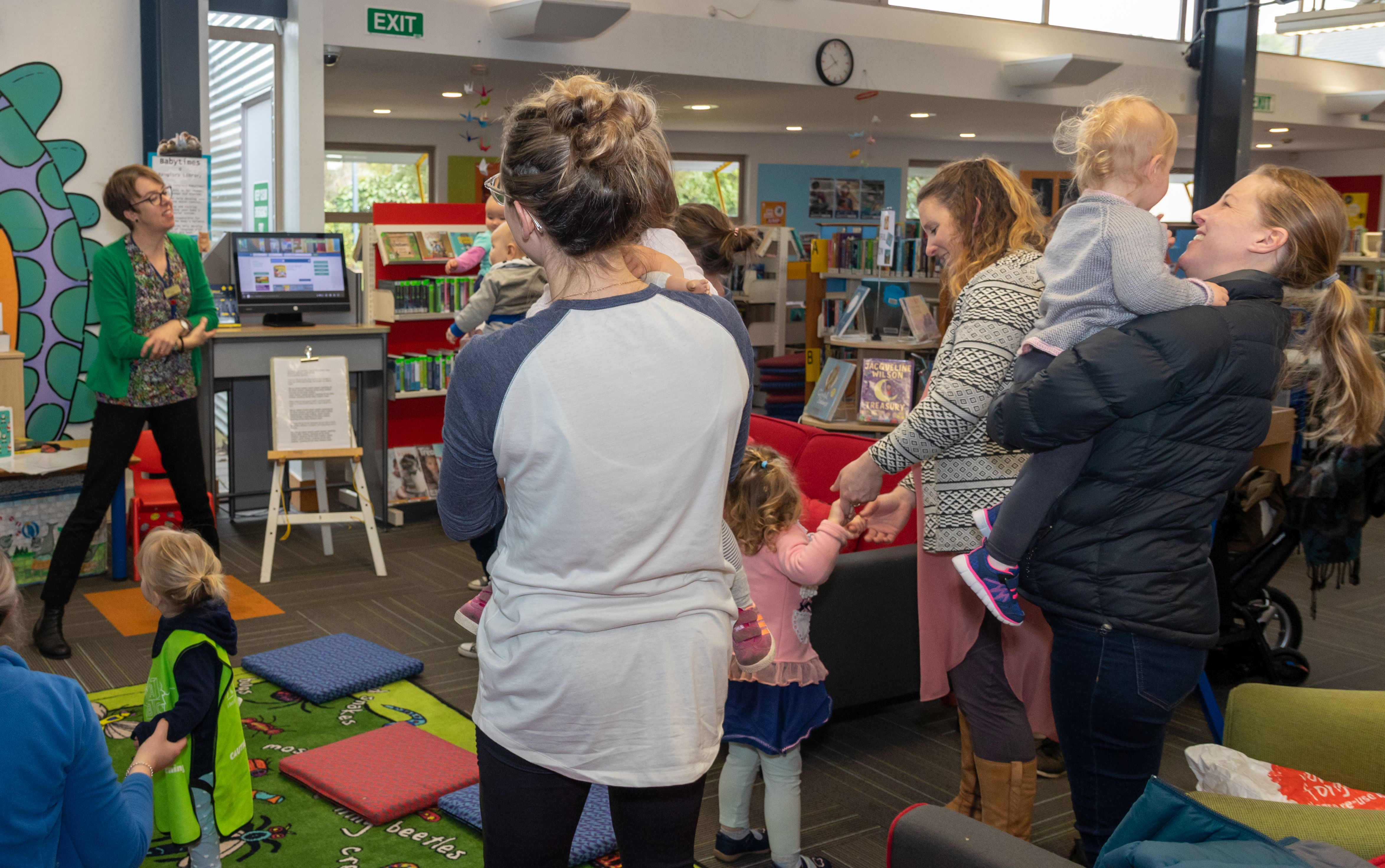 Pre-School Sessions at the Waimakariri Libraries Return for Term 1 thumbnail image.