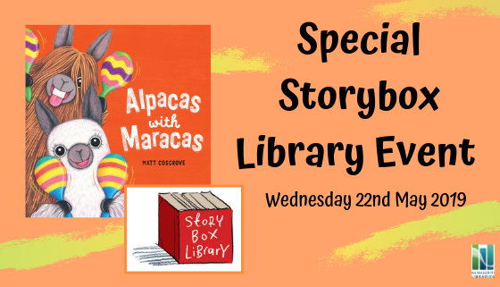 Special Storybox Library event: Alpacas with Maracas thumbnail image.