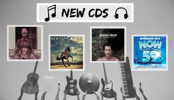 What's new in the CD collection? thumbnail image.
