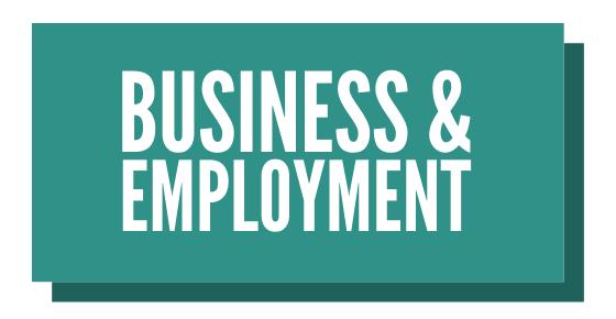 Business & Employment Button