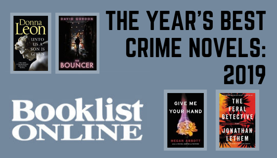 The Year's Best Crime Novels: 2019 Booklist Online thumbnail image.