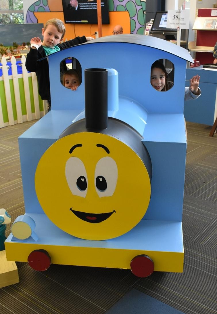 NC Model Railway Kiwi Train
