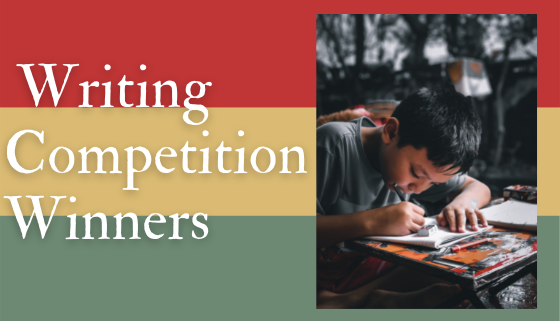 School Holiday Writing Competition Winners thumbnail image.