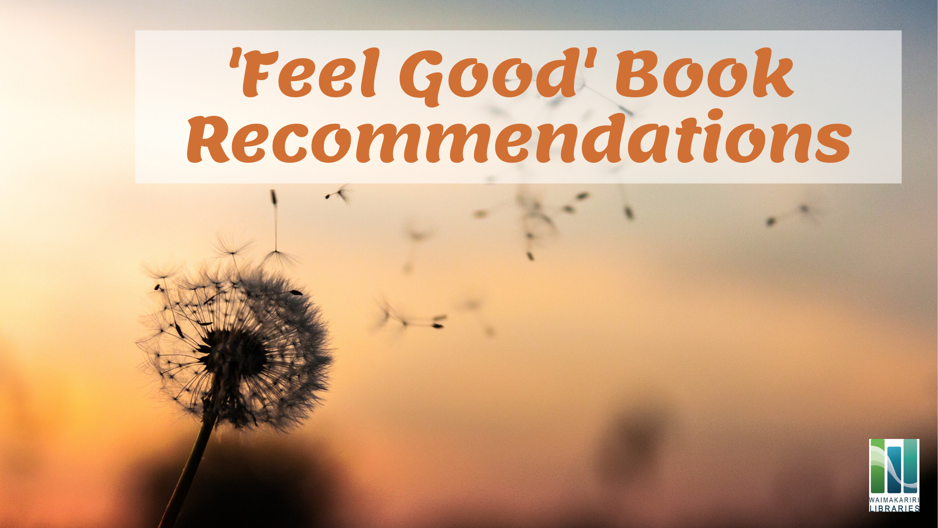 Feel Good Book Recommendations