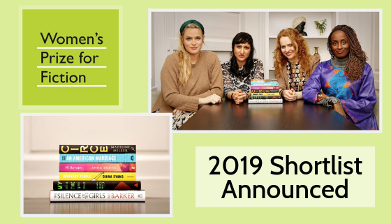 Woman's Prize for Fiction 2019 Shortlist Announced thumbnail image.