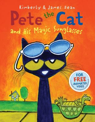 Pete the cat and his magic sunglasses cover