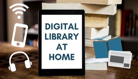 Digital Library at Home thumbnail image.