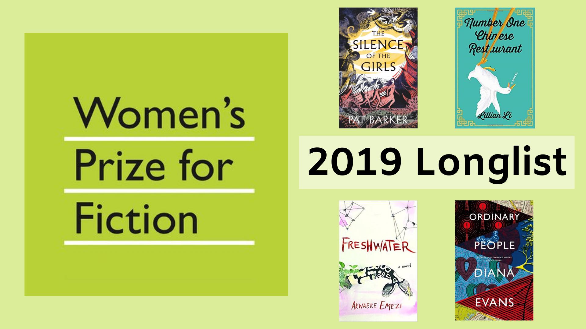 Woman's Prize for Fiction 2019 Longlist Announced thumbnail image.