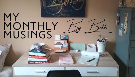Beth's Monthly Musings: November 2020 thumbnail image.
