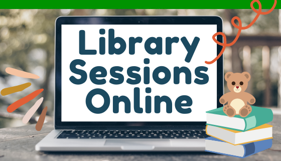 Library Sessions Online thumbnail image.