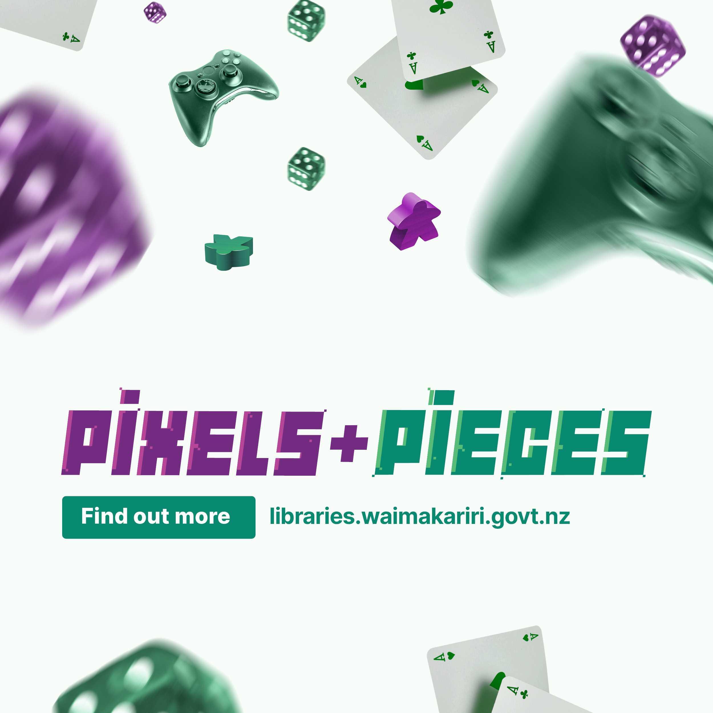 Pixels + Pieces