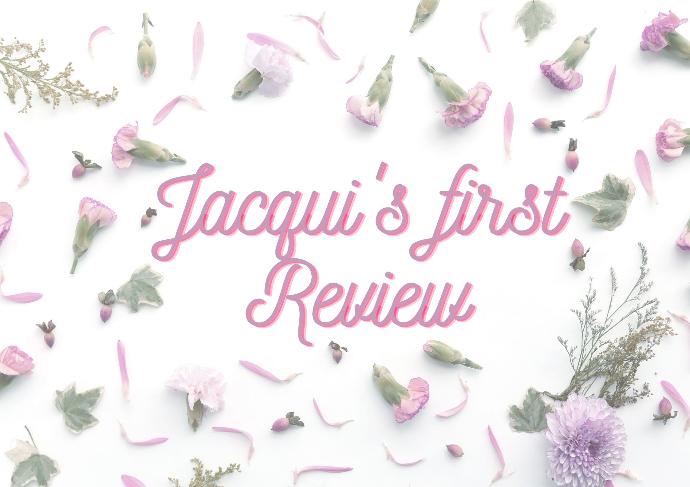 Jacqui's first review thumbnail image.