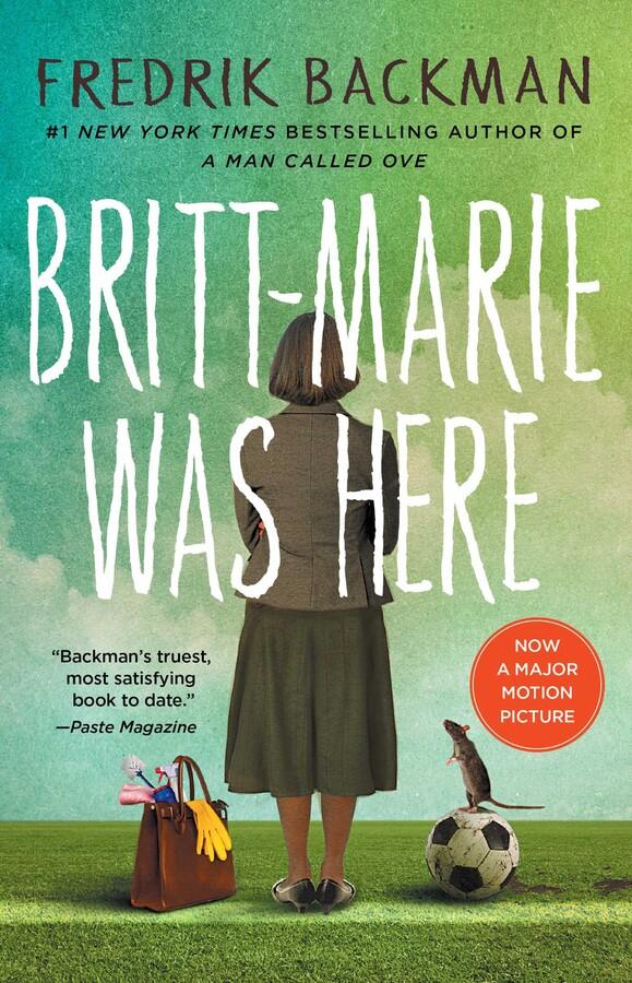 Britt-Marie Was Here cover