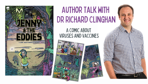 Jenny and the Eddies: A Comic about Viruses and Vaccines     thumbnail image.