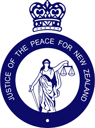 Justice of Peace NZ logo