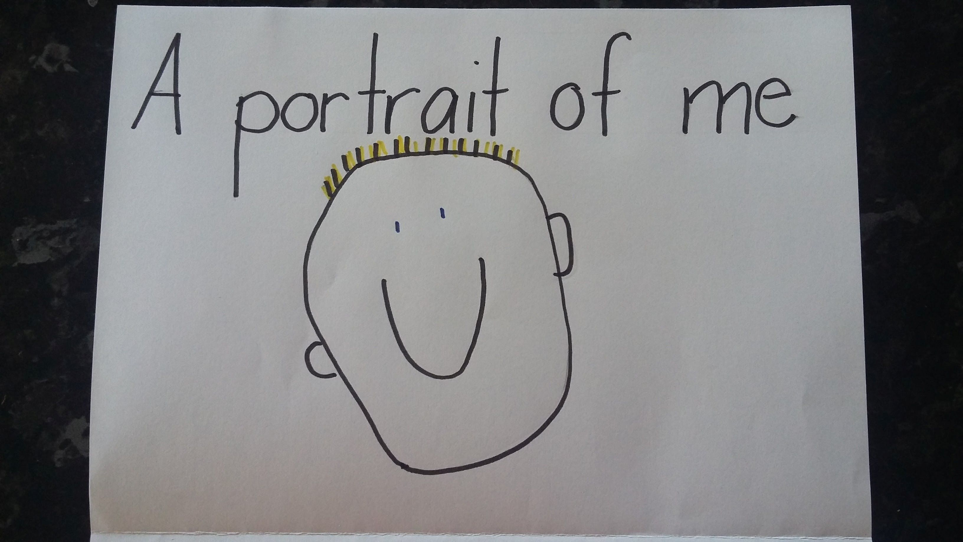 childrens portrait drawing